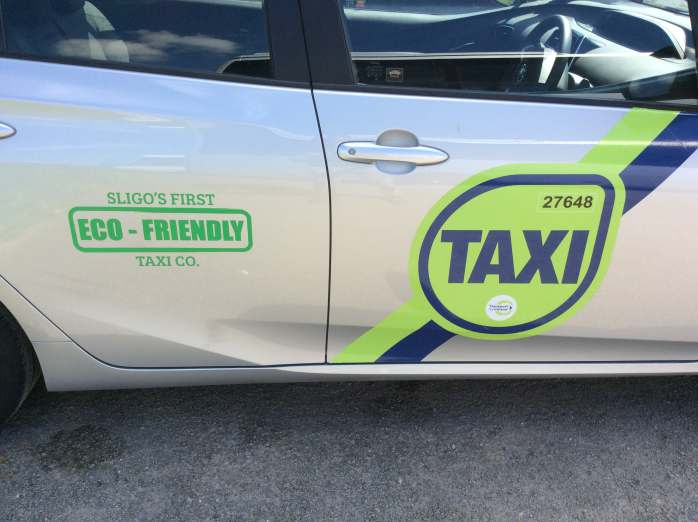 Side of Taxi